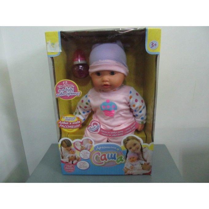 Кукла Саша Дразнилки PLAY SMART, с функцией записи, Box.