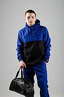 Анорак Nike / Ветровка Nike / синий / черный