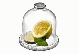 Лимонница с крышкой Pasabahce Basic, h=105 мм, d=100 мм 98397