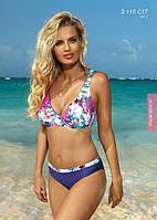 Яркий женский купальник SELF  PALM BEACH