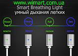 Магнитный кабель USB - USB Type-C для зарядкии передачи данных. Серебрянный., фото 3