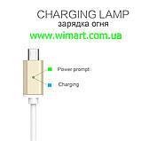 Магнітний кабель USB - USB Type-C для зарядкии передачі даних. Червоний. Garas., фото 5