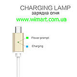 Магнитный кабель USB - USB Type-C для зарядкии передачи данных. Серебрянный., фото 4