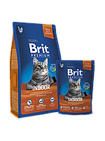 Brit Premium Cat Indoor 8 кг