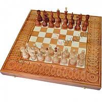 Резные Шахматы + Нарды, 50х50, фото 1