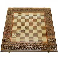 Резная шахматная доска 50х50, фото 1