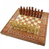"""Шахматы """"Египет"""". 50х50 см. Медь"""