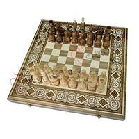 Шахматы + Нарды, 44х44 см. Бисер