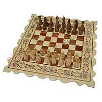 Шахматы + Нарды, 56х56 см. Бисер