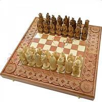 """Шахматы """"Рыцари"""". 50х50 см. Медь"""