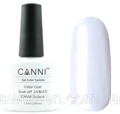 Гель лак Canni № 23 (белый)