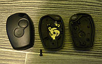 Корпус ключа Renault ,Nissan,Opel 2 кнопки