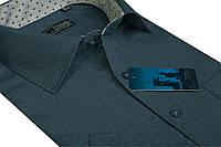 """Мужская рубашка с коротким рукавом """"Castello -Cortez_7"""""""