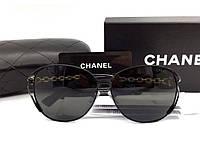 Женские модные солнцезащитные очки (71107) black, фото 1