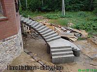 Наружная лестница, крыльцо