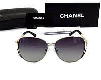 Женские солнцезащитные очки (71107) silver, фото 1
