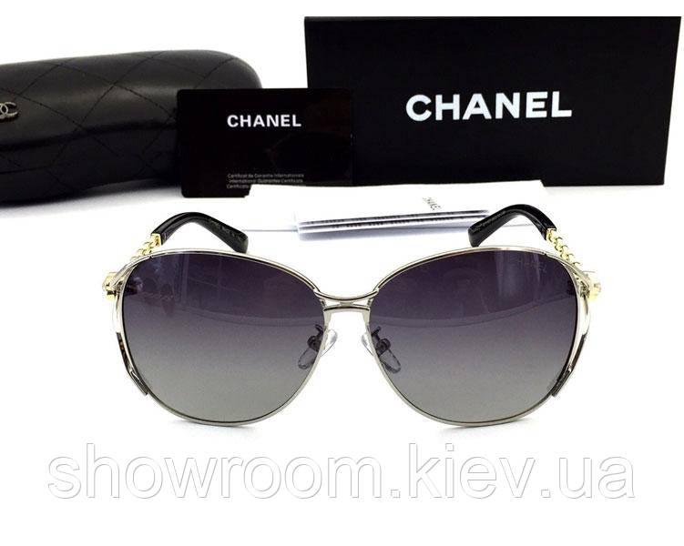 Женские солнцезащитные очки (71107) silver