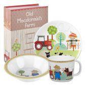Набор детский в подарочной упаковке Churchill OLDM00131 Little Rhymes Old Macdonald s Farm 3 пр