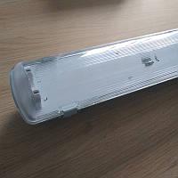 Корпус светильника под 2 LED лампы 1200 мм пылевлагозащищенный IP65