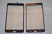 """Оригинальный тачскрин / сенсор (сенсорное стекло) для Samsung Galaxy Tab 4 7.0"""" T230 (черный цвет) + СКОТЧ"""