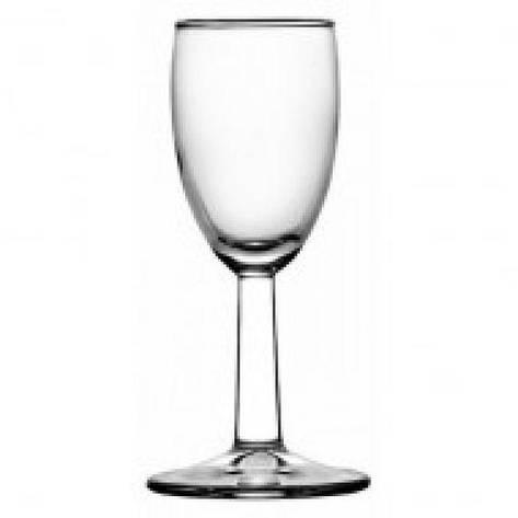 Чарка для горілки Pasabahce Banquet, 63 мл (h=126мм,d=42х60мм), 6 шт. 44405, фото 2