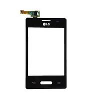 Оригинальный тачскрин / сенсор (сенсорное стекло) для LG Optimus L3 II E425 | E430 (черный цвет)