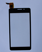 Оригинальный тачскрин / сенсор (сенсорное стекло) для Texet TM-4677 (черный цвет)