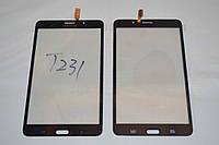 """Оригинальный тачскрин / сенсор (сенсорное стекло) для Samsung Galaxy Tab 4 7.0"""" T231 (черный самоклейка)"""