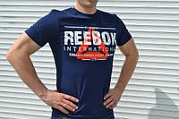Мужская футболка Reebok (синяя)