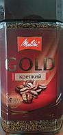 Кофе растворимый сб Melitta Gold крепкое 200г