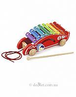 """Игрушка каталка """"Машинка"""" Viga Toys 50341"""
