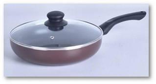Сковорода Vincent 4456-24 d=24см глубокая антипригар.