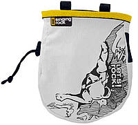 Мешочек для магнезии SINGING ROCK Chalk bag comic L yellow