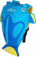 Детский Рюкзак Рыбка, голубая Trunki (0173-GB01)