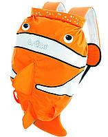 Детский  рюкзак Рыбка, оранжевая Trunki (0112-GB01-NP)