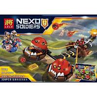 """Конструктор LELE 79238 Nexo Knight """"Безумная колесница Укротителя"""", 326 дет"""