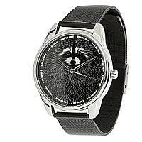 "Часы ""Енот"" металл на подарок"