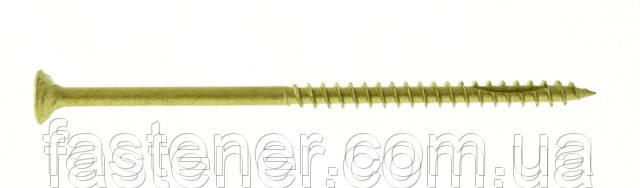 Саморез по дереву Cutters 6,0х120, с покр. Сorrseal, потай TX25, упак.- 100 шт, Швеция