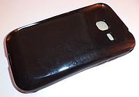Силиконовый чехол для Samsung Galaxy Ace Duos S6352 S6358 (черный цвет)