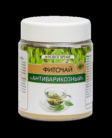 """Травяной чай от варикоза, снижает риск тромбообразования """"Антиварикозный"""" Новое время, сбор 75 г"""