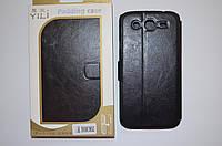 Чехол-книжка для Samsung Galaxy Mega i9150 | Duos i9152 (черный цвет)