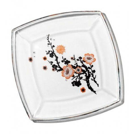 Тарелка (рис.Сакура), 195*195 мм Pasabahce Tokio, 6 шт. 54077, фото 2