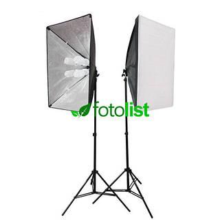 Набор постоянного студийного света Arsenal SLH-5070-8, 8х28w, 1120 Вт, 5500К