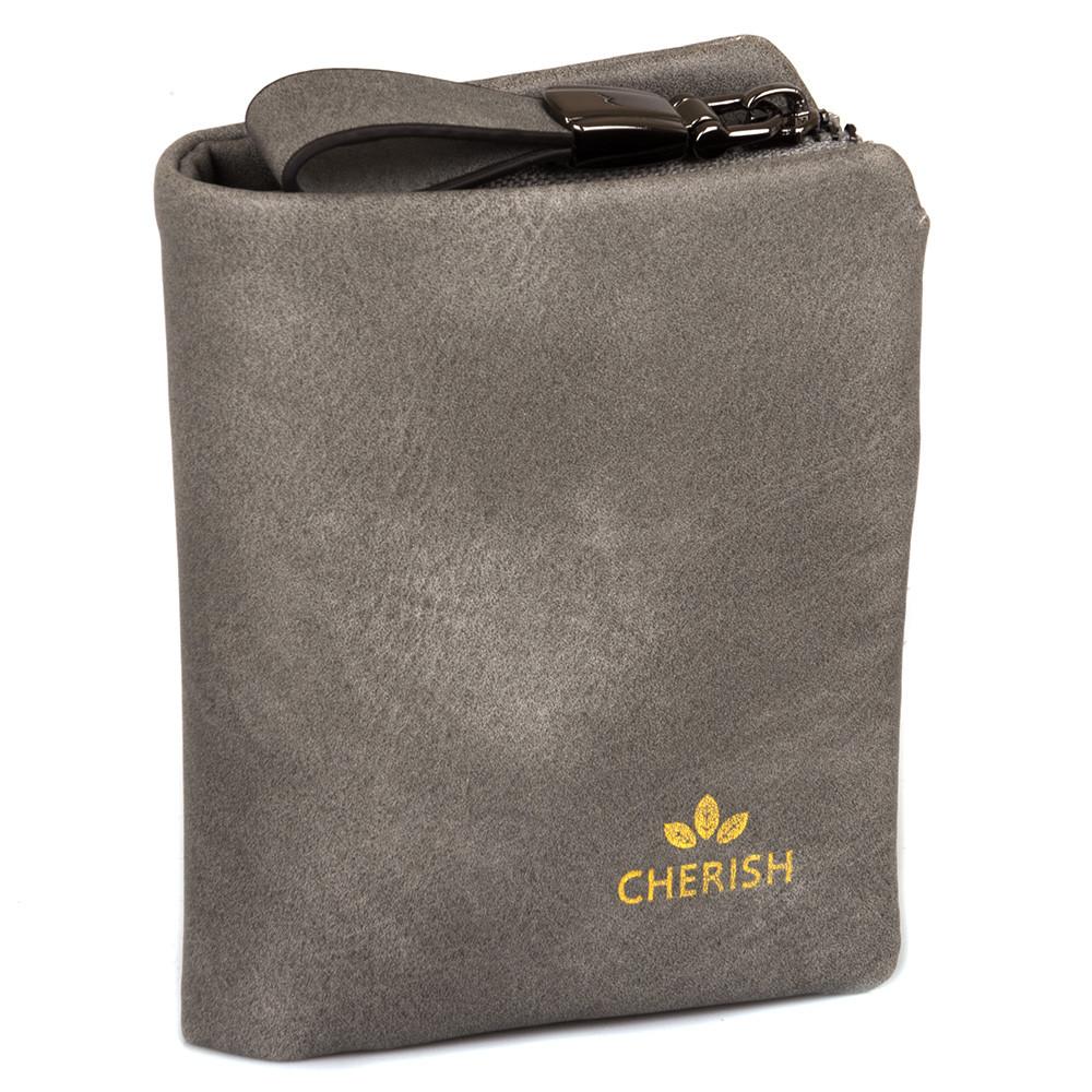 Компактное женское портмоне 3003 grey