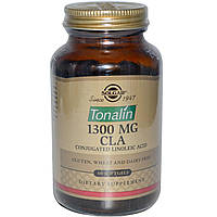 Тоналин КЛК Solgar, 1300 мг, 60 гелевых капсул