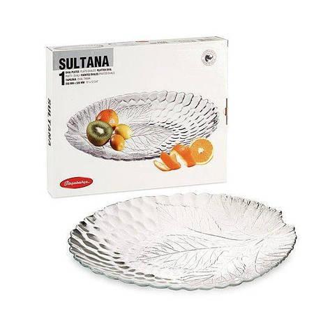 Тарелка овальная Pasabahce Sultana, 250*320 мм 10293, фото 2