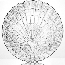 Тарілка плоска Pasabahce Atlantis, 190 мм, 6 шт. 10234