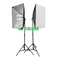 Набор постоянного студийного света с патронами для ламп Arsenal SLH-5070-8 (без ламп)