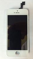 Дисплей (модуль) + тачскрин (сенсор) для Apple iPhone 5S   SE (белый цвет)
