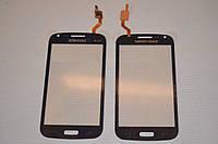 Тачскрин / сенсор (сенсорное стекло) для Samsung Galaxy Core i8260 Duos i8262 (темно-синий цвет, самоклейка)